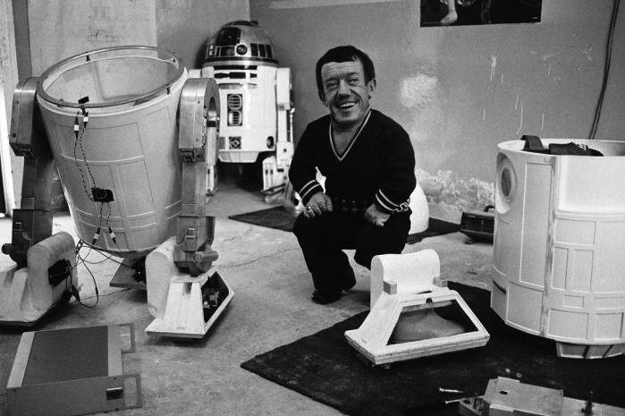 R2-D2 actor Kenny Baker.