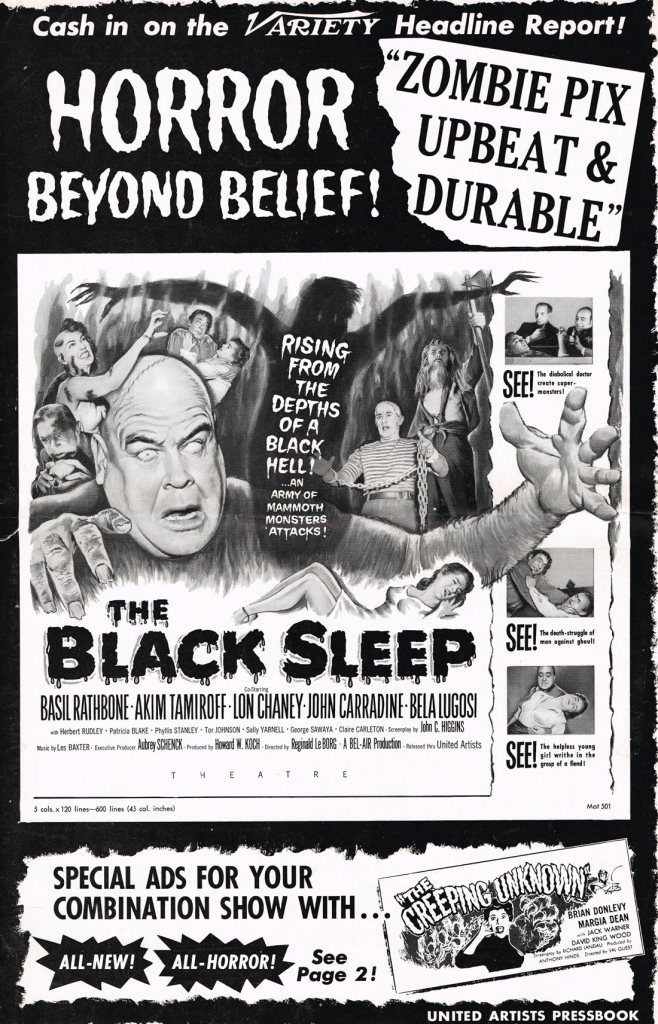 The Black Sleep (1956)