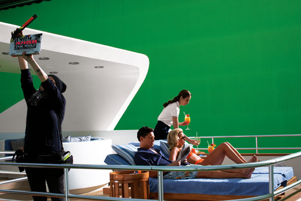Wolf of Wall Street - behind the scenes