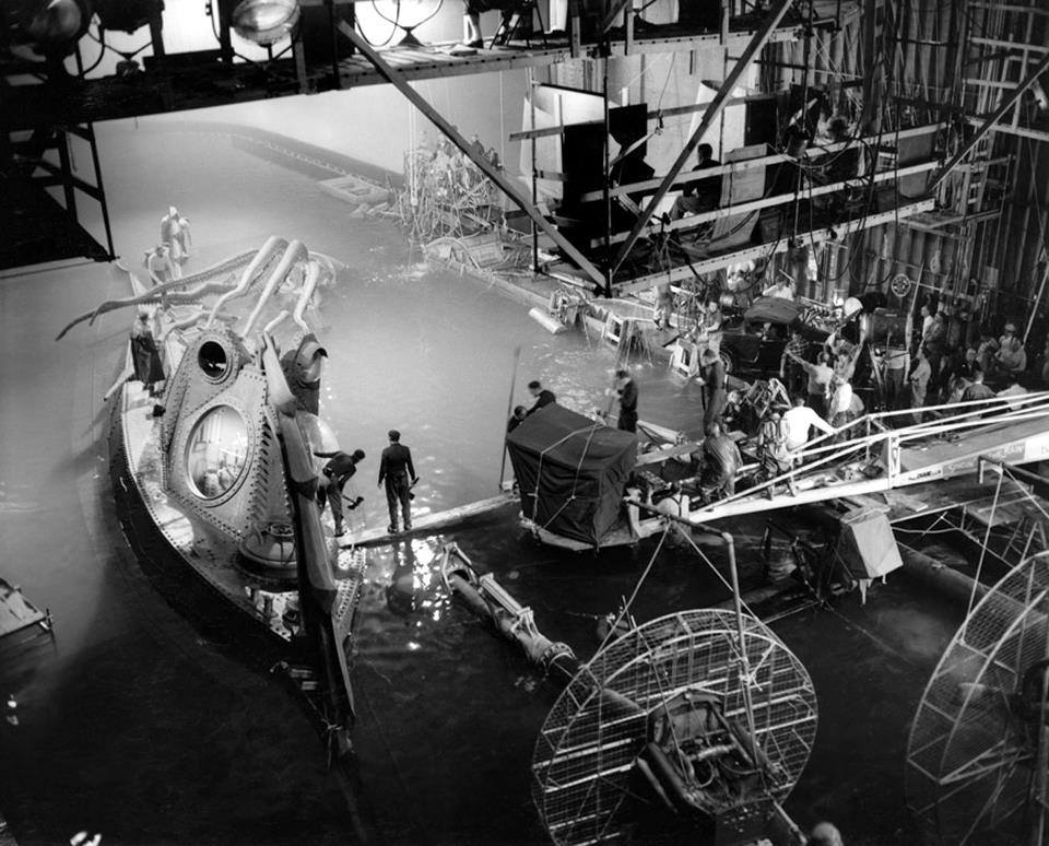 Behind The Scenes Of 20 000 Leagues Under The Sea 1954