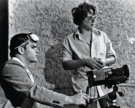 Del Toro as a young director (DGA Winter)