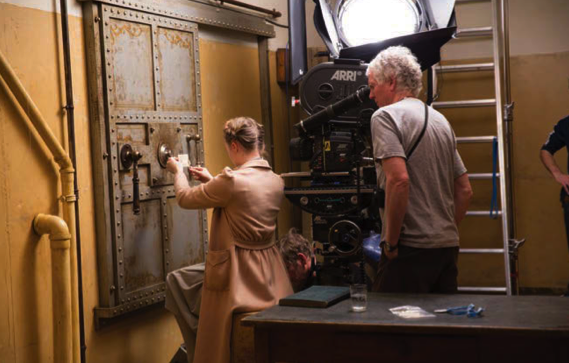 Photo from the March issue of American Cinematographer.