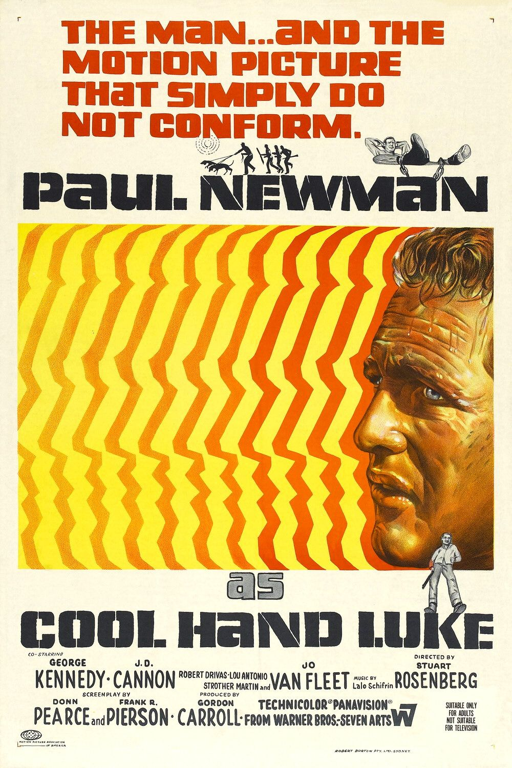 Production Stills And Posters For Cool Hand Luke 1967