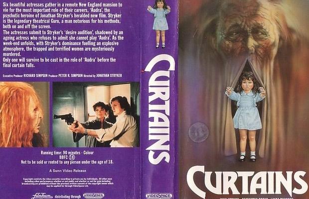 Curtains vhs
