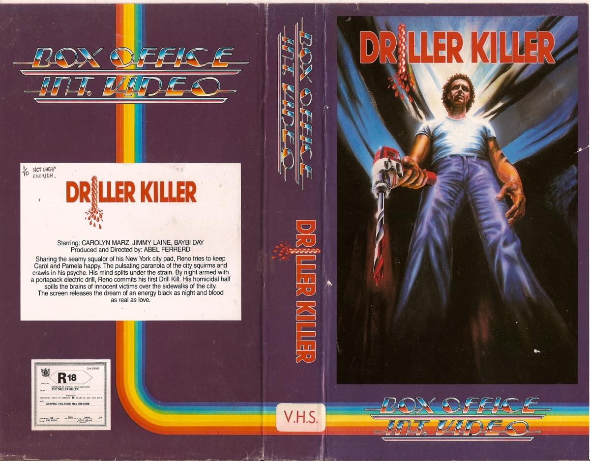 Driller Killer VHS #2