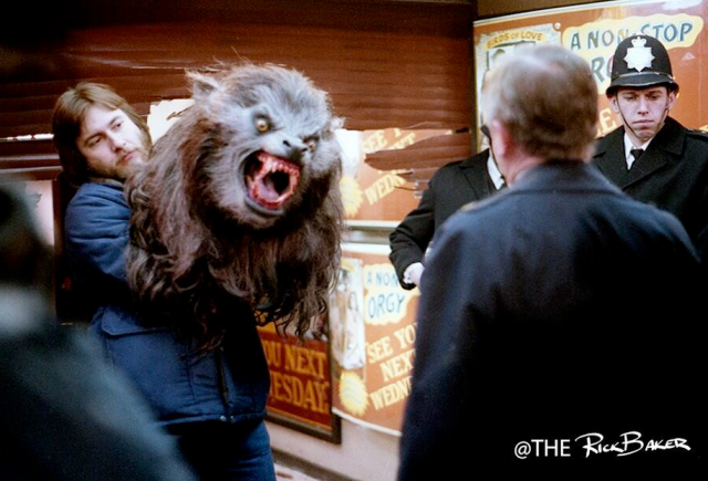An American Werewolf in London (rick baker twitter)