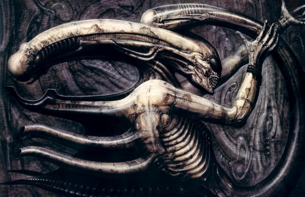 Giger painting
