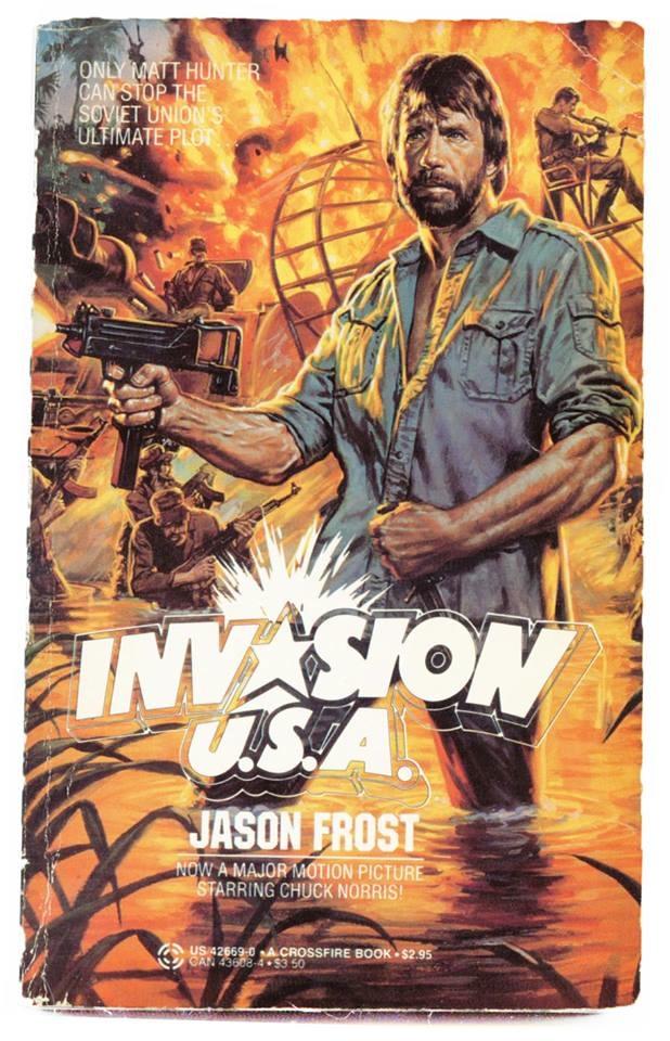 Invasion USA novelization (eletric boogaloo fb)