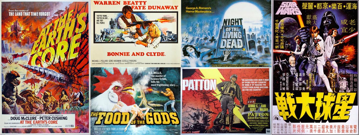 the art of poster maker extraordinaire tom chantrell deep fried movies
