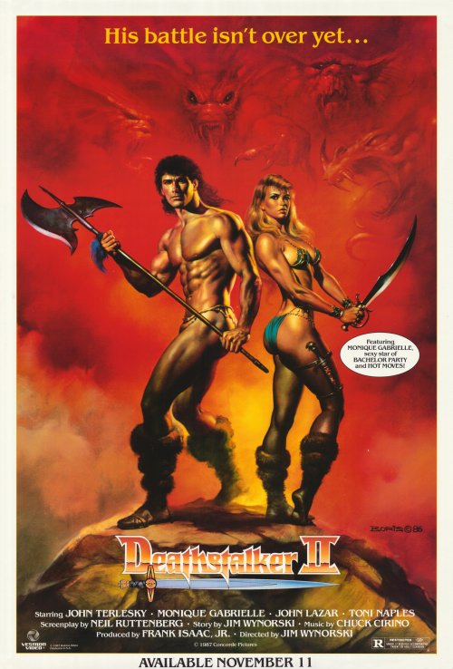 """look back at the """"Sword and Sorcery"""" posters of the 1980s 
