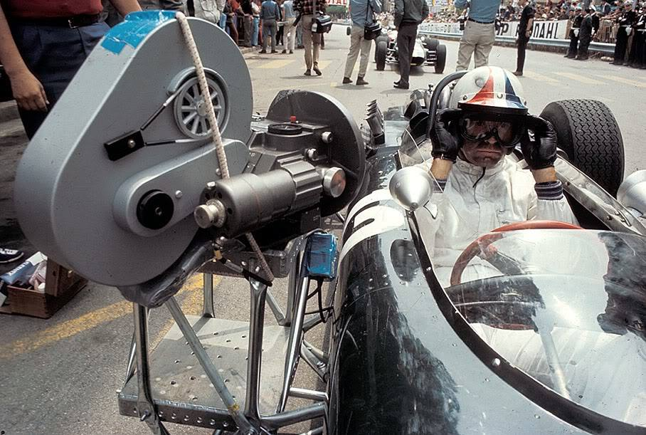Behind The Scenes James Garner In Grand Prix 1966