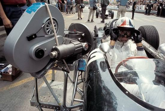 Grand Prix (1966) (behind the clapperboard)
