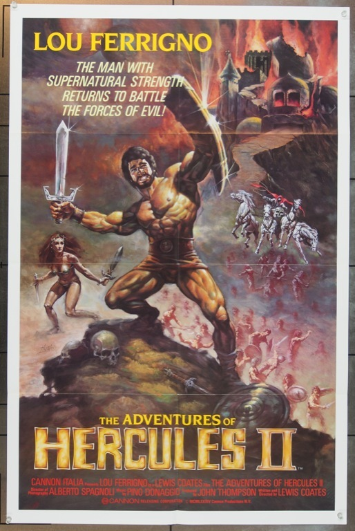 The Adventures of Hercules II (1985)