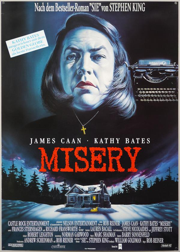 Misery german poster (film on paper)