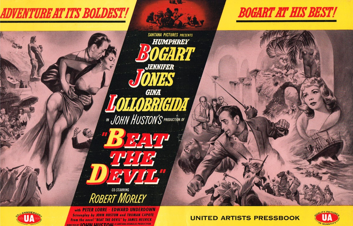 Beat the Devil pressbook cover (zombos closet)