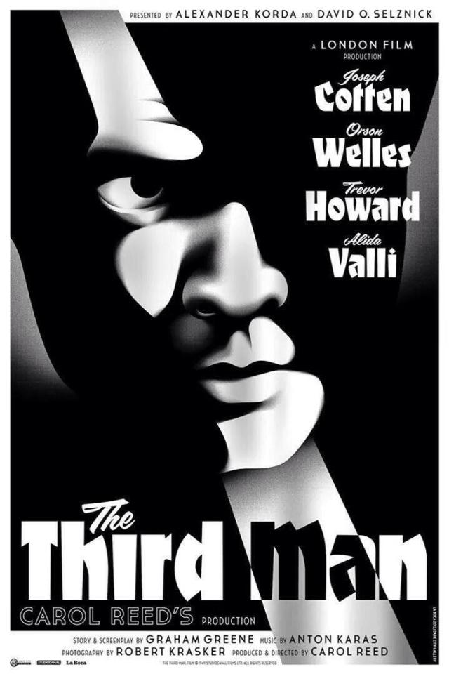 The Third Man alternative poster by La Boca