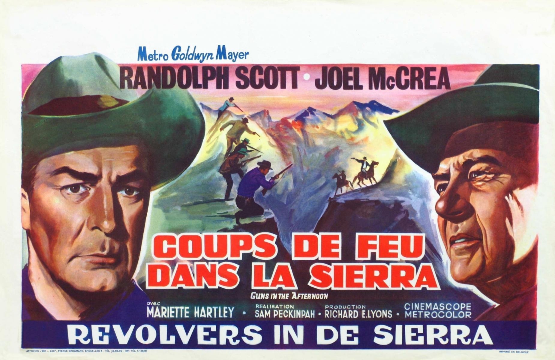 The Movie Posters Of Sam Peckinpah Deep Fried Movies