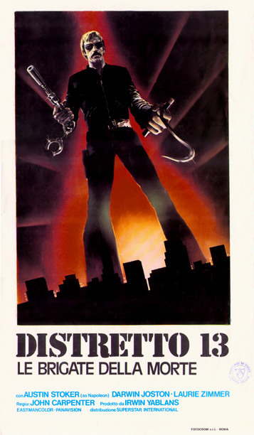 Assault on Precinct 13 poster foreign (carpenter official)