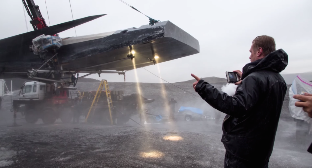 behind the scenes interstellar, making of interstellar, on the set of interstellar