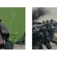 Before and After visual effects breakdowns from Edge of Tomorrow (2014)