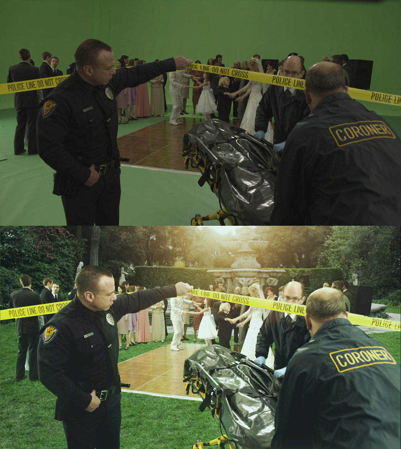 Behind the Scenes, Throat Rip Edition: MacGruber (2010 ...  Macgruber Throat Rip