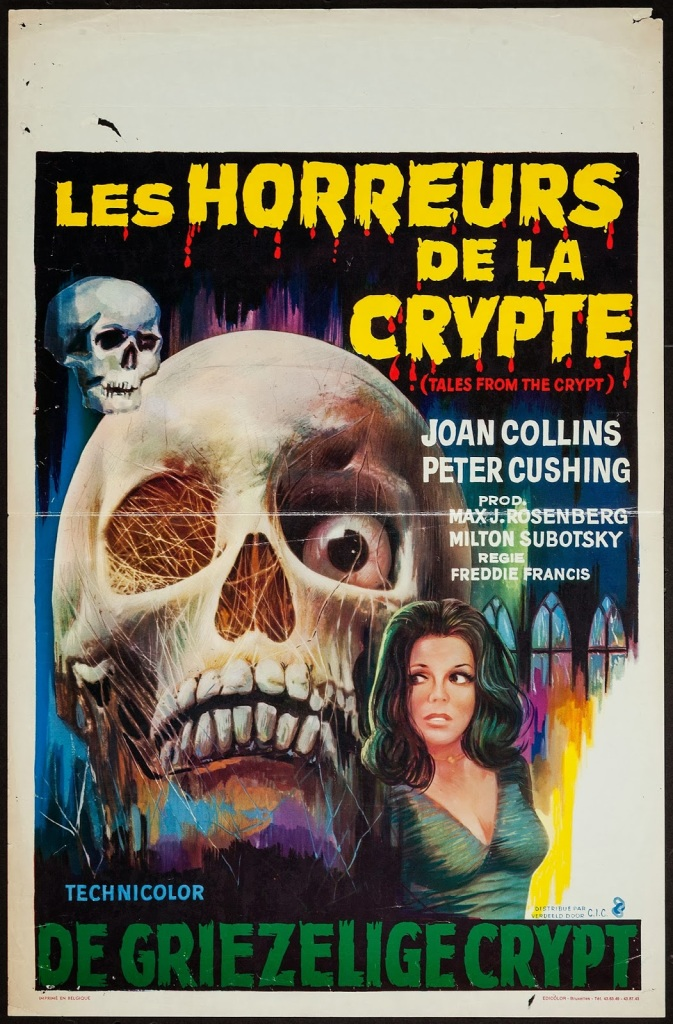 Tales From the Crypt belgian poster (discreet)