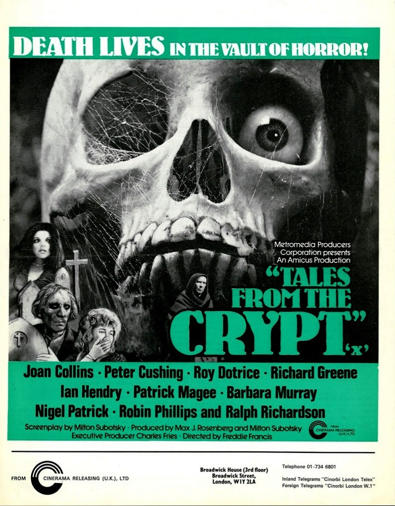 Tales From the Crypt (petercushing.org)