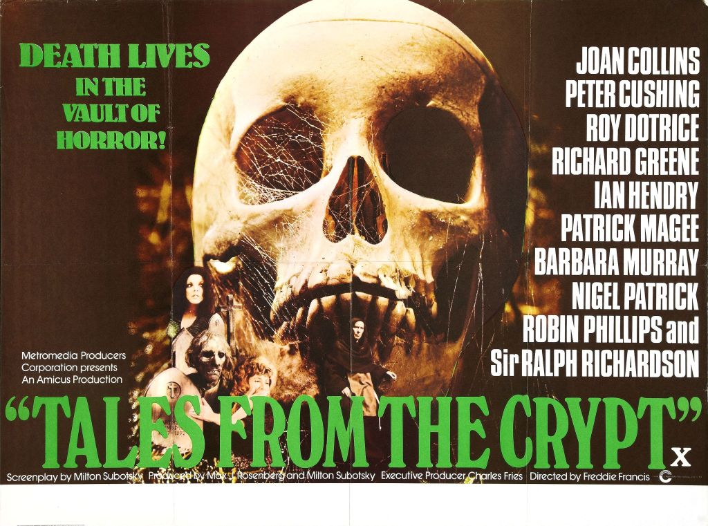 Tales From the Crypt (wrong side of the art)