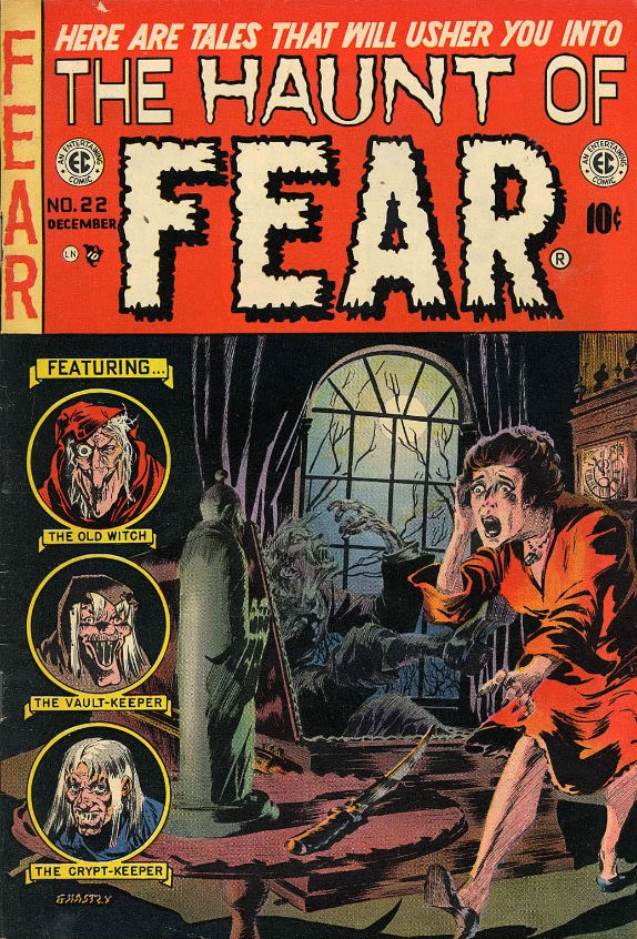 Wish You Were Here from The Haunt of Fear #22