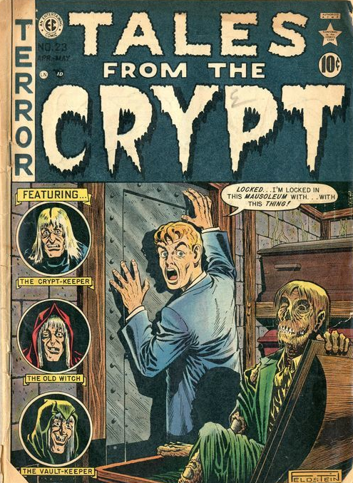 Reflection of Death from Tales from the Crypt #23