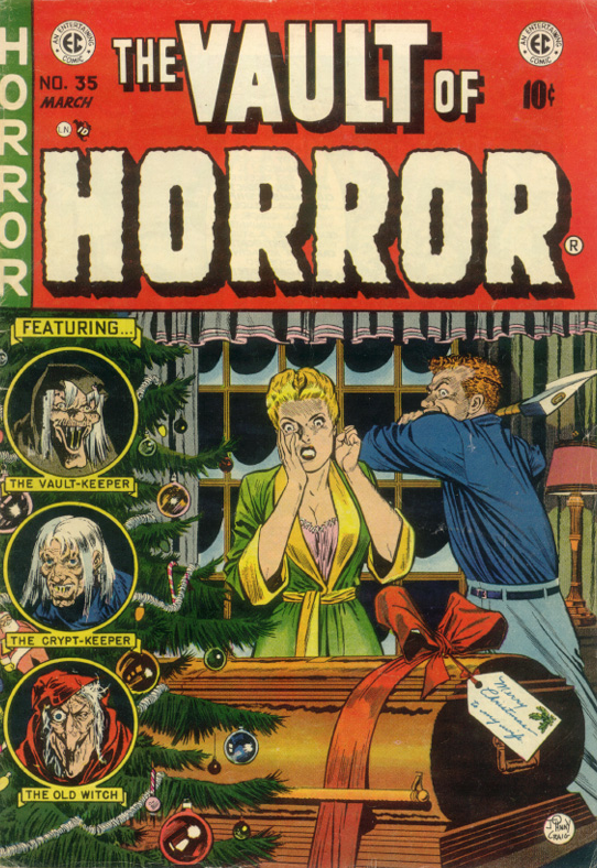 All Through the House from The Vault of Horror #35