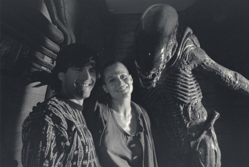 Behind the scenes of Alien 3 (1992).