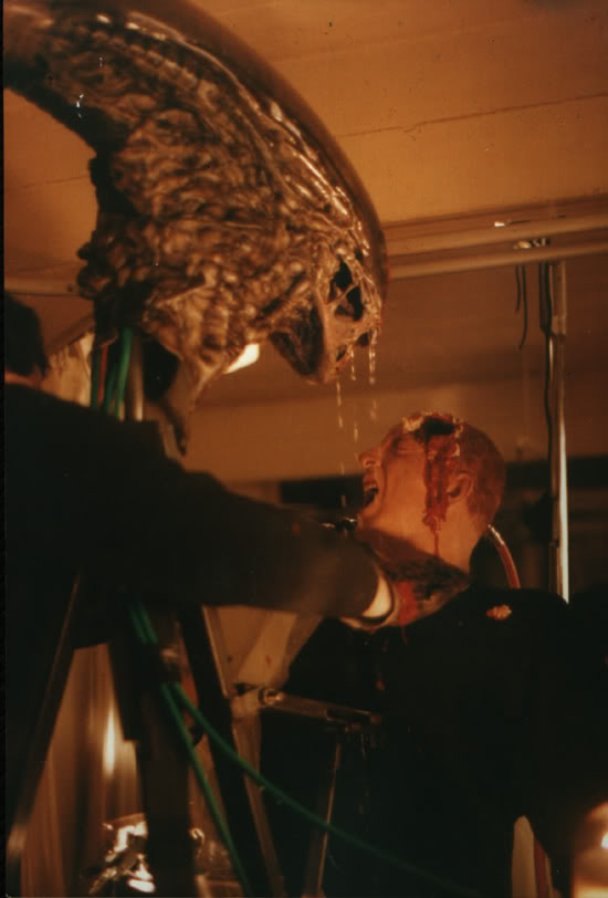 Behind the scenes of Aliens 3 (1992).