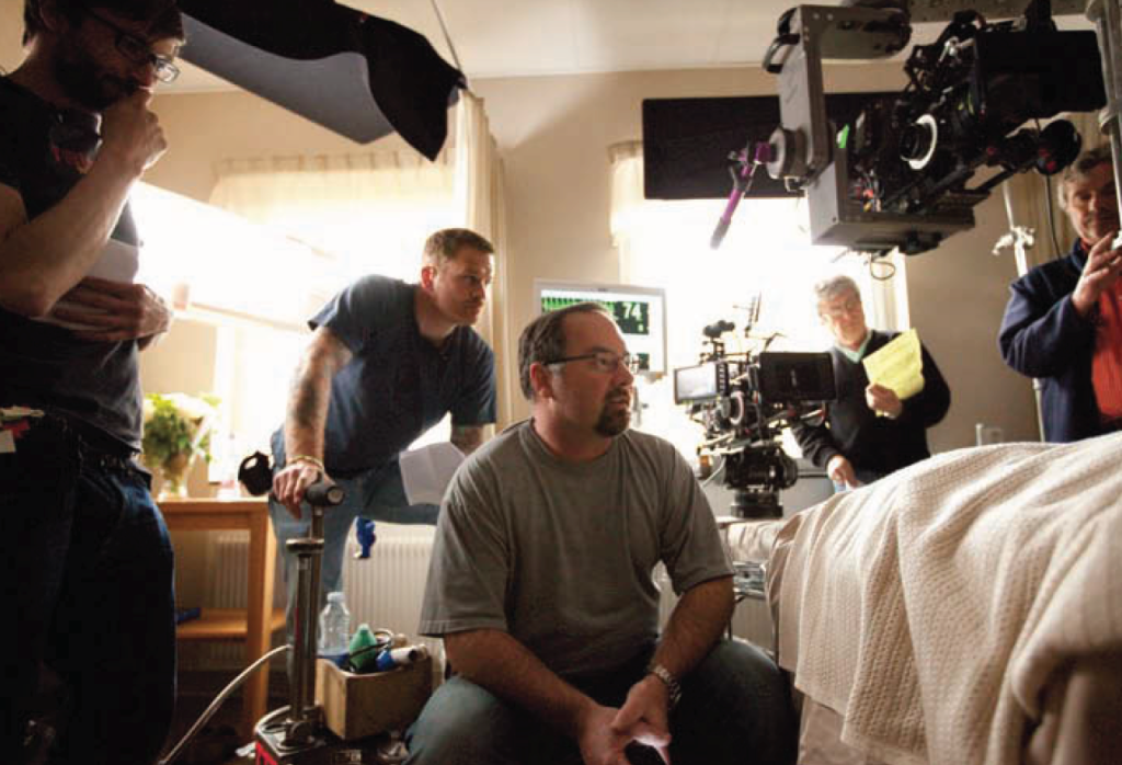 Behind the scenes of The Girl With the Dragon Tattoo (2011).