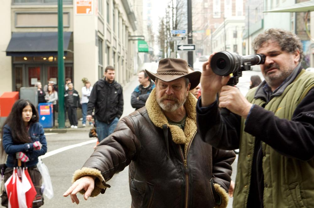 Behind the scenes of The Imaginarium of Doctor Parnassus (2009)