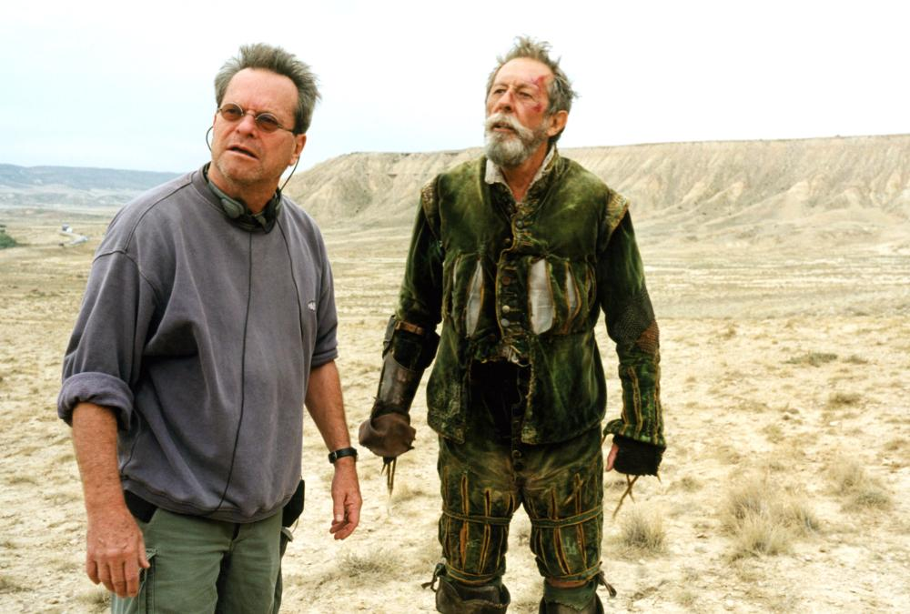 Behind the scenes of Lost in La Mancha (2002)