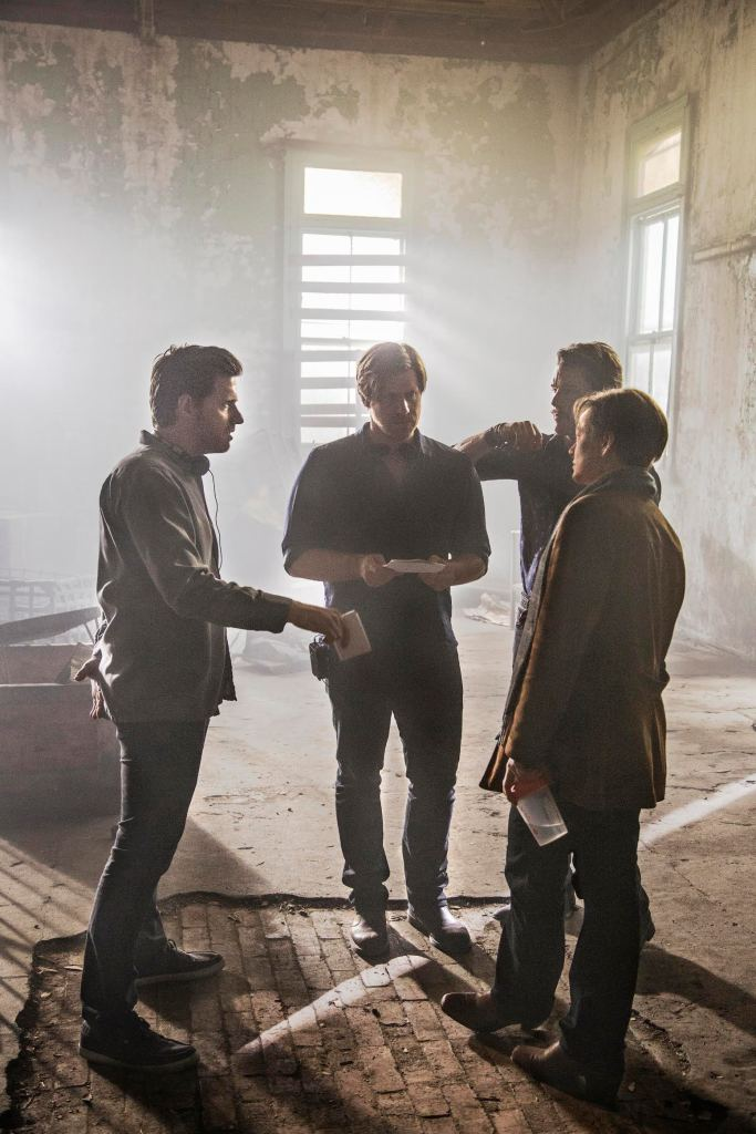 Behind the scenes of Predestination.