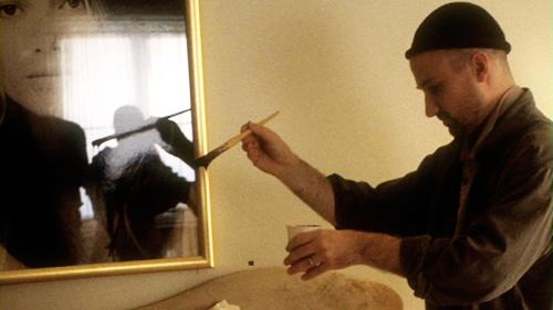 Behind the scenes of Se7en (1995).