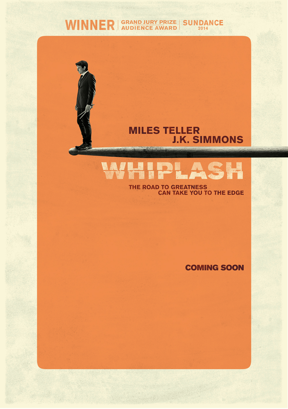 Whiplash poster (cold Open is firm, don't know artist)