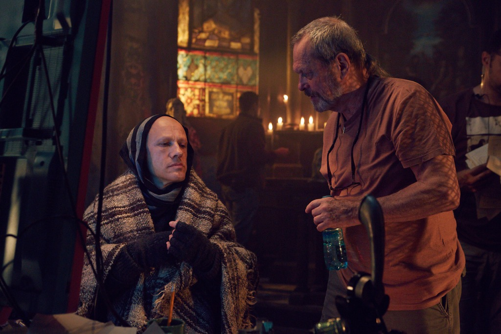 Behind the scenes of The Zero Theorem (2013)