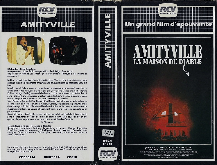 More than 100 french vhs horror covers deep fried movies for Amityville la maison du diable streaming