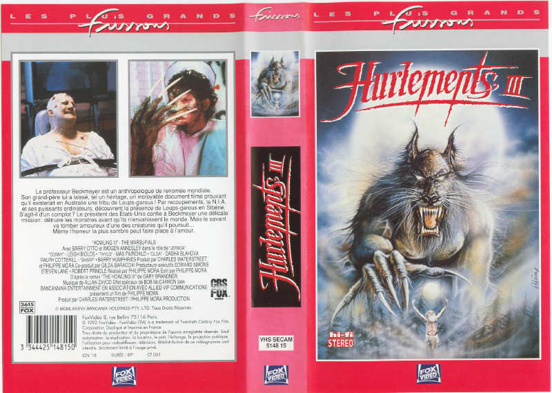 The Howling III (1987)