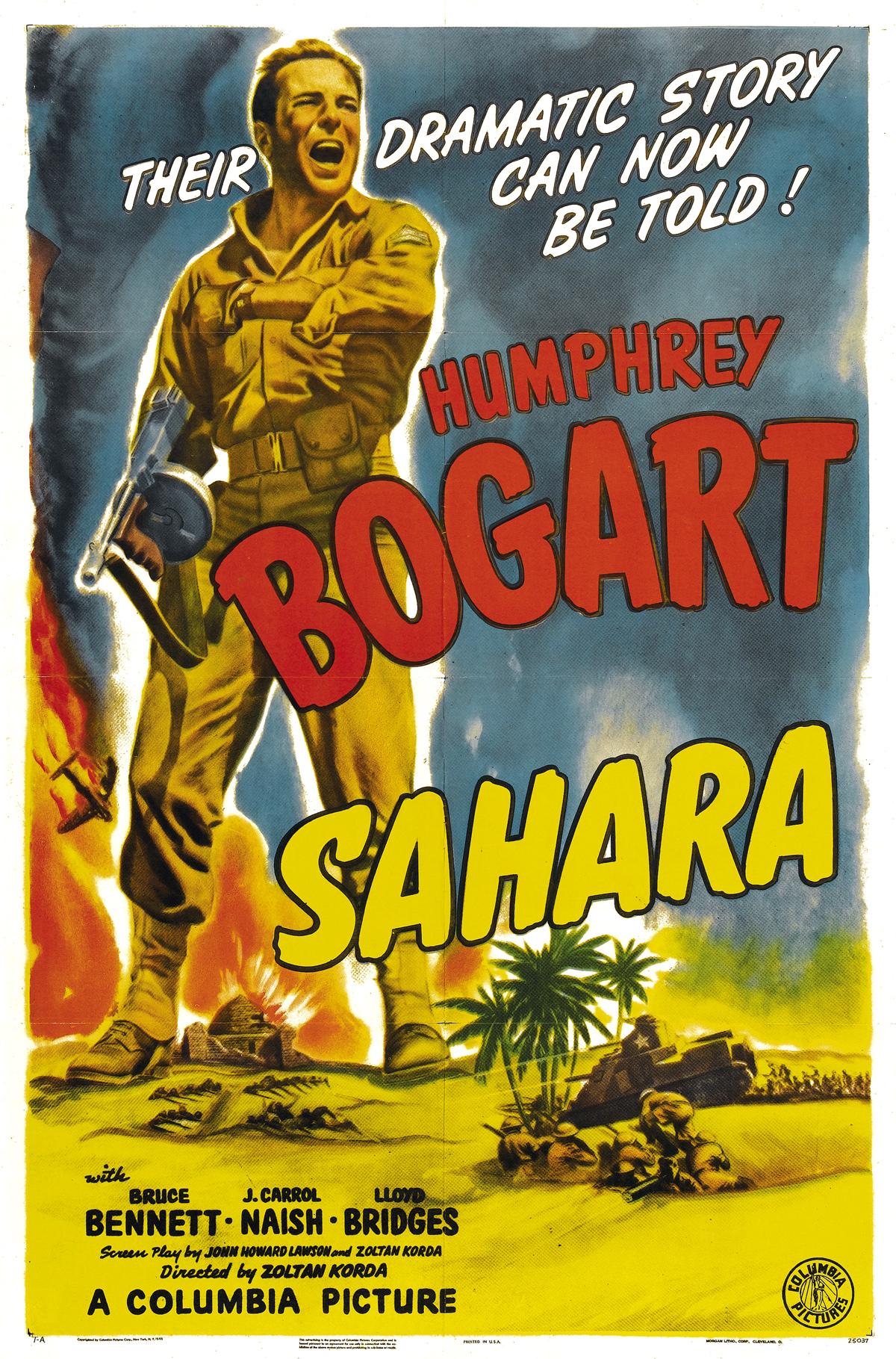 Sahara poster (tcm)