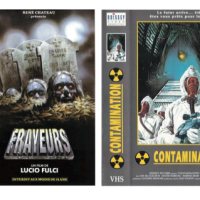 More than 100 French VHS horror covers