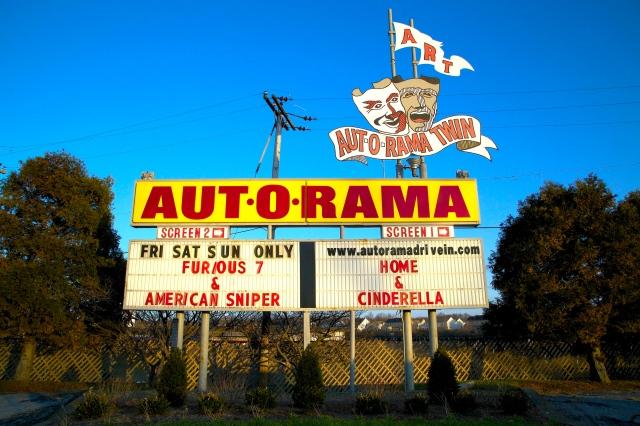 Aut-O-Rama Twin Drive-In, Drive-In, North Ridgeville