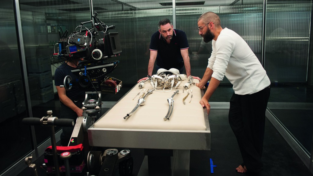 Behind the scenes of Ex Machina