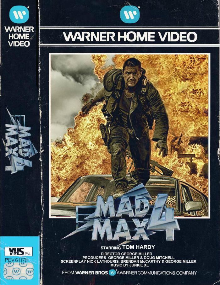 Mad Max Fury Road fake VHS