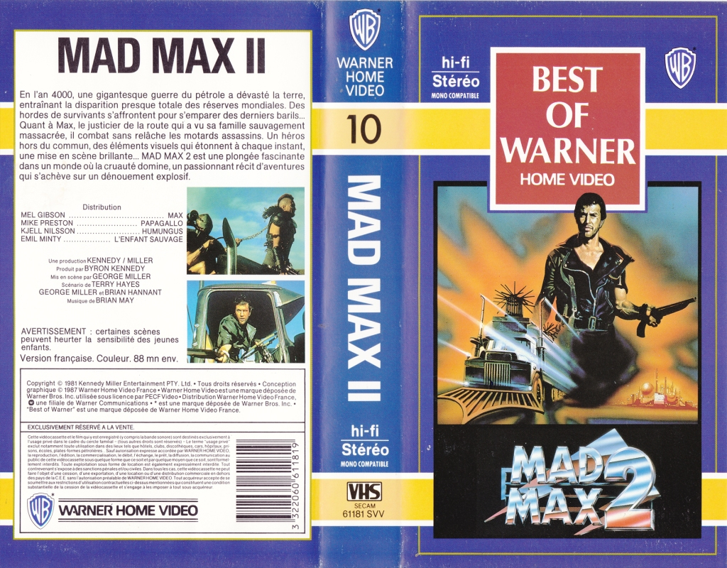 The Road Warrior vhs