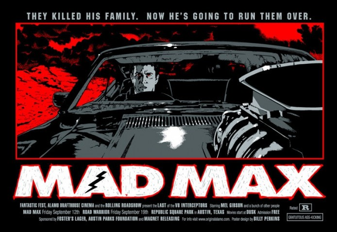 Mad Max poster by Billy Perkins