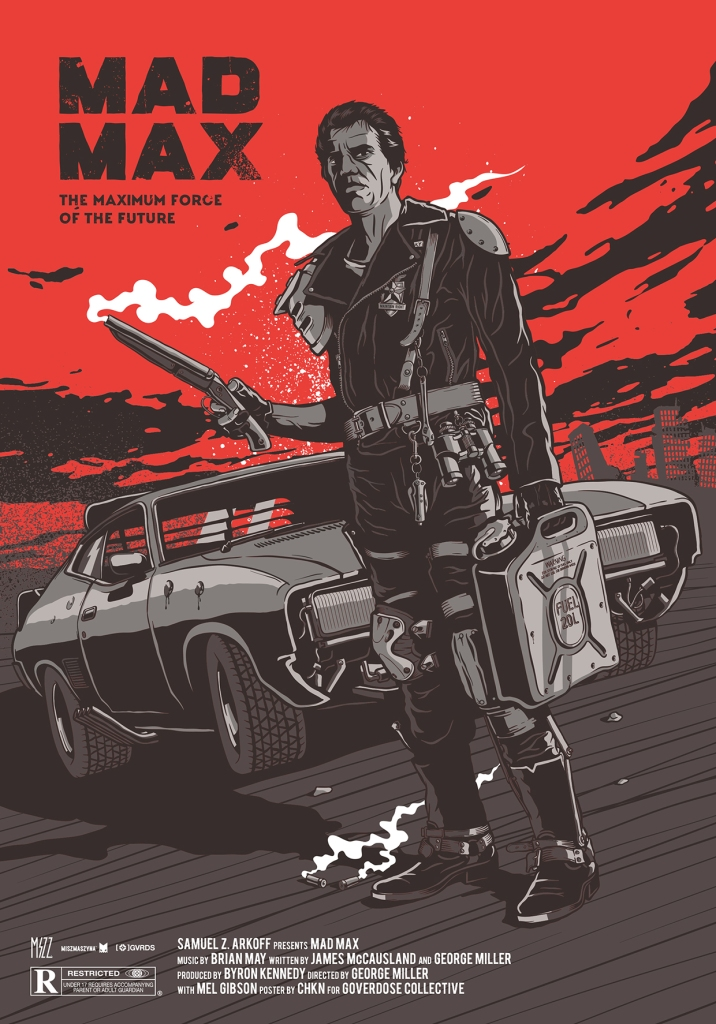 the posters of mad max deep fried movies